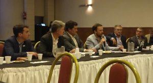 El Senador Armando Traferri participó en una reunión con la UIA