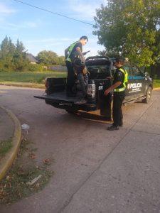 Roldán: Los detuvieron por violar el aislamiento y descubrieron que se trasladaban en una moto robada