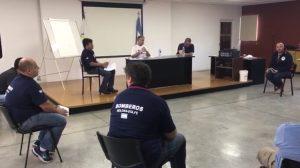 Roldán: Se puso en marcha un operativo de desinfección en puntos claves de la ciudad