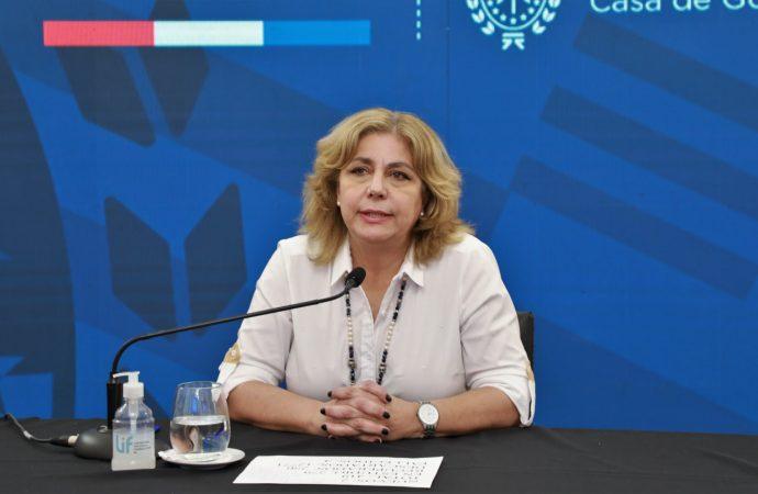 La ministra de Salud recibió el alta hospitalaria