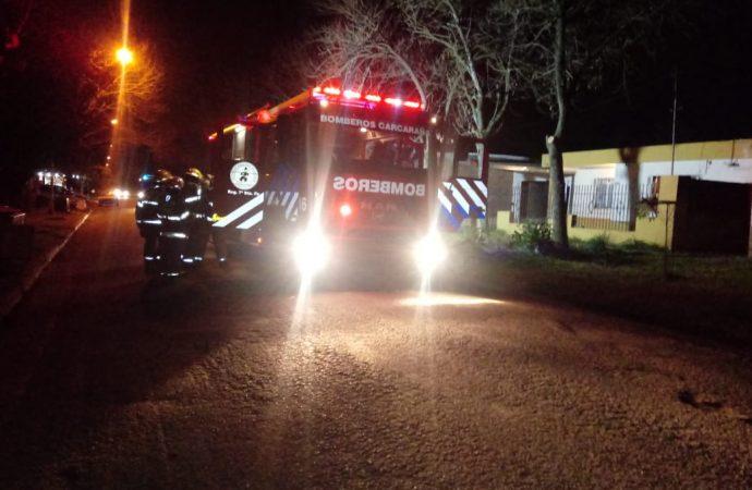 Carcarañá: Incendio en una vivienda de Barrio Itatí