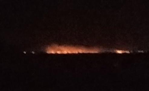 Importante incendio en la zona rural de Luis Palacios