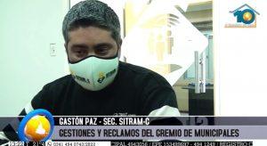 """Gastón Paz: """"En Carcarañá no se descontarán los días de paro, el intendente comprende la situación"""""""