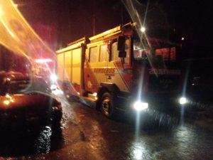 Carcarañá: Incendio en Barrio San Martín