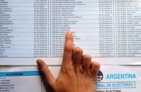 Ya se puede consultar el padrón provisorio para las elecciones del 2021