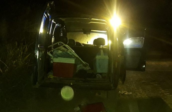 Fue a pescar a la Pileta Palandri y le robaron el vehículo que apareció en la zona rural