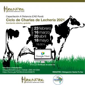 """Ciclo de Charlas de Lechería """"Entendiendo a la Vaca Lechera"""""""