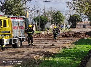 San Jerónimo: Bomberos acudieron a Güemes y París por un escape de gas