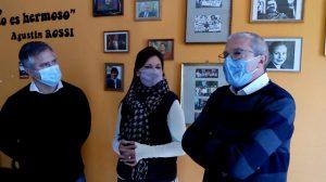 Busatto visitó Roldán para acompañar a los candidatos de Unidad Ciudadana
