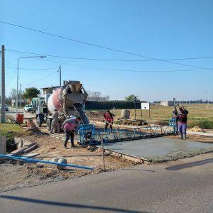 San Jerónimo: Licitarán la compra de hormigón realizar dos cuadras más de pavimento