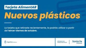 Tarjeta Alimentar: los nuevos plásticos podrán ser utilizados a partir del 3° viernes de Octubre